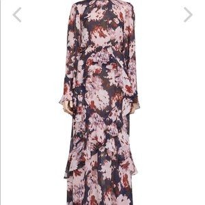 Margot Watercolor Maxi dress